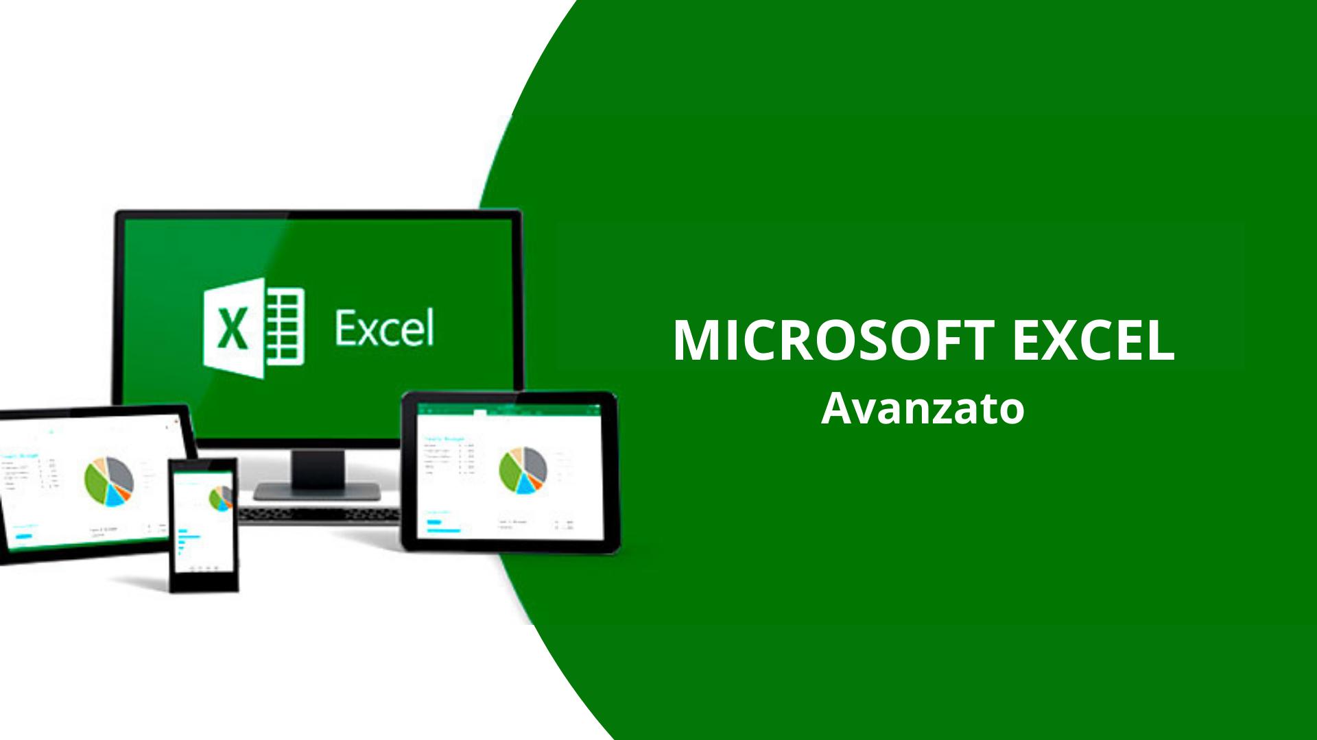 Corso di Microsoft Excel Avanzato – 24 ore